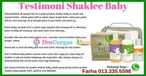 Review dan Testimoni Produk ShakleeBaby | Shaklee Baby