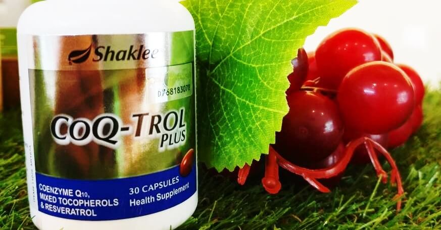 9 Manfaat Utama Coenzyme Q10 ; CoQ10 Shaklee