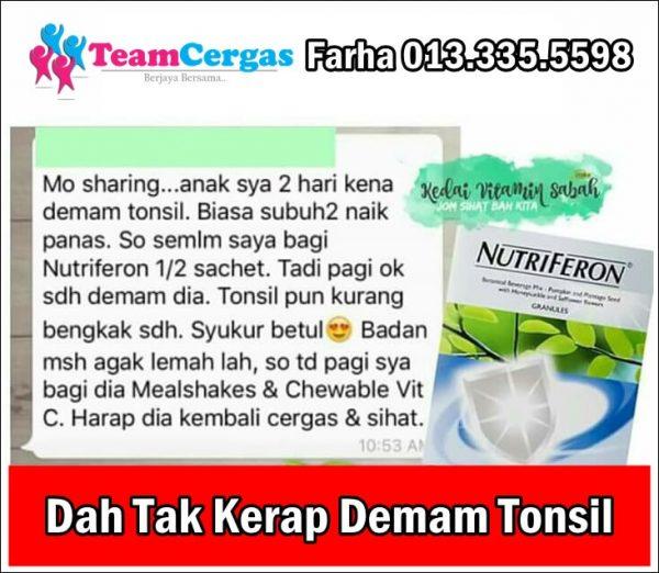 Hilangkan Bengkak Tonsil Dengan Set Tonsil Shaklee Bengkak Tonsil Sakit Tonsil Rawatan Sakit Tonsil Ubat Sakit Tonsil Gambar Tonsil Normal Putih-putih Tonsil Busuk Testimonial Set Tonsil Shaklee