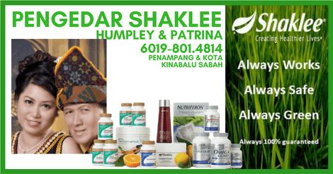 Pengedar Shaklee Penampang dan Pengedar Shaklee Kota Kinabalu Sabah