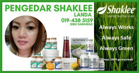 Pengedar Shaklee Sibu Sarawak | Beli Vivix Shaklee di Sibu Sarawak