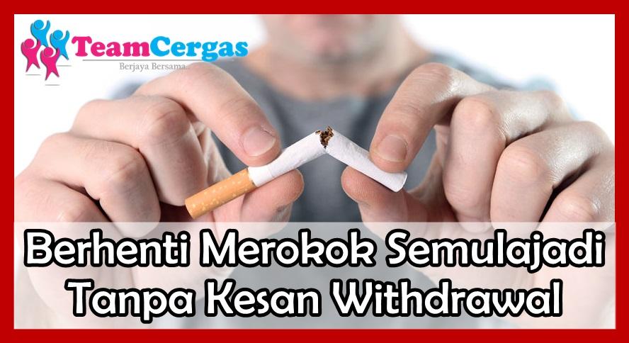 Faedah Berhenti Merokok, 20 Minit Pon Dah Nampak Kesan Baik